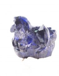 Azurite Specimen 6.40 g from Milpillas Mine in Sonora, Mexico - Sourced Directly from the Region W000186