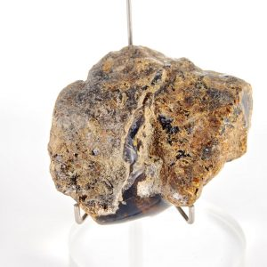 Blue Dominican Amber Chunk, Mostly Raw, 59.7 g, Grade B