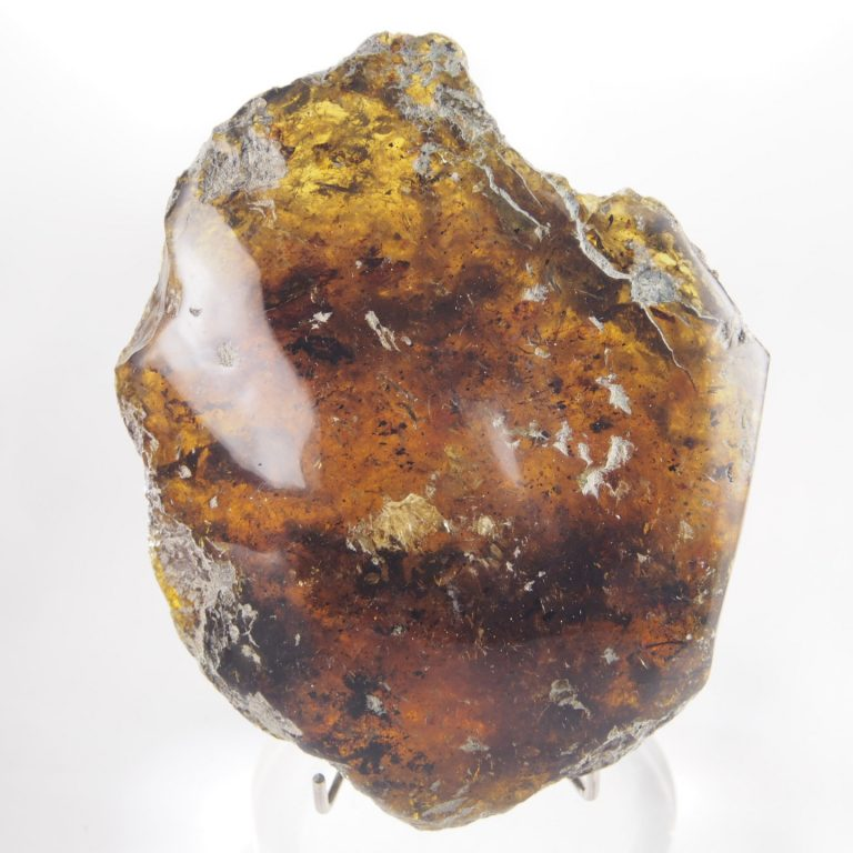 Dominican Amber Stone Half Polished 173.5 g, Grade B