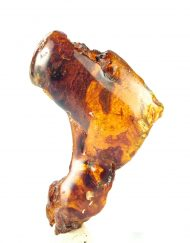 Half Polished Blue  Dominican Amber 14.6 g, Grade B