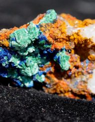 Moroccan Azurite with Malachite and Quartz 10.80 g- Crystals, Minerals, Rocks, and Geodes