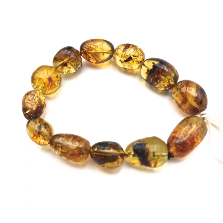 Polished Beaded Tumbled Mexican Bracelet