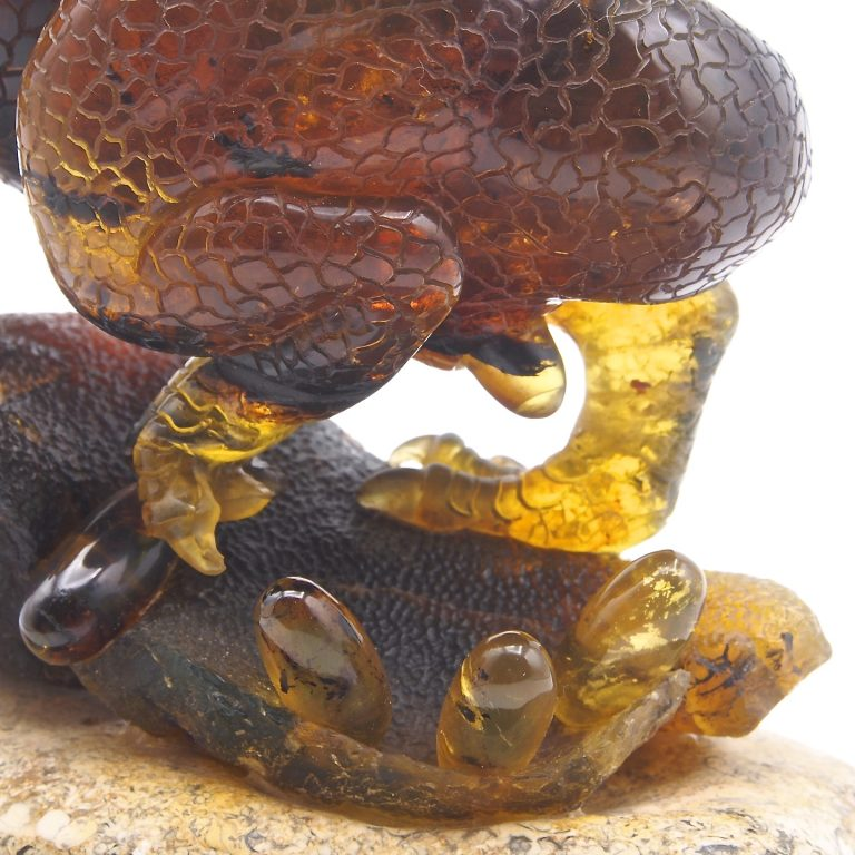 Mexican Amber Sculpture