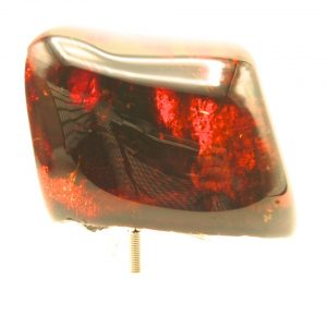 Red Dominican amber