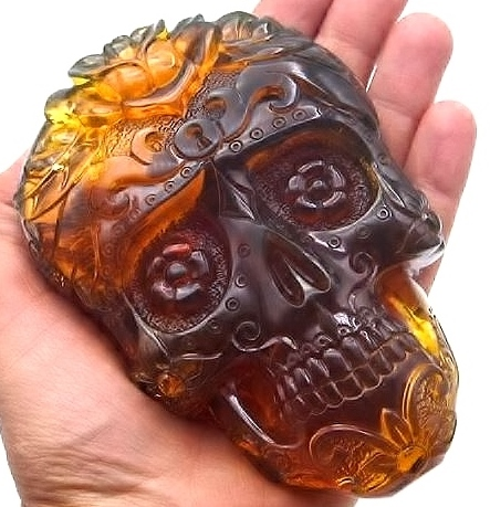 Day of the Dead skull by Joaquin Lopez Lopez
