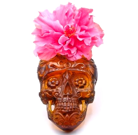 Day of the Dead Skull in Mexican Amber 250g